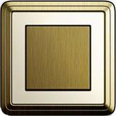 Gira ClassiX бронза/кремовый
