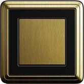 Gira ClassiX бронза/черный