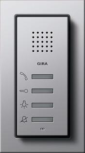 Квартирная станция с переговорным устройством Gira E22
