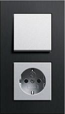 Gira Esprit черный алюминий