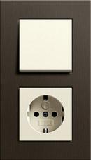 Gira Esprit коричневый алюминий