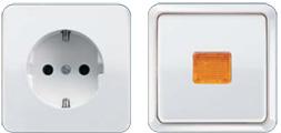 Розетки и выключатели JUNG AP 600